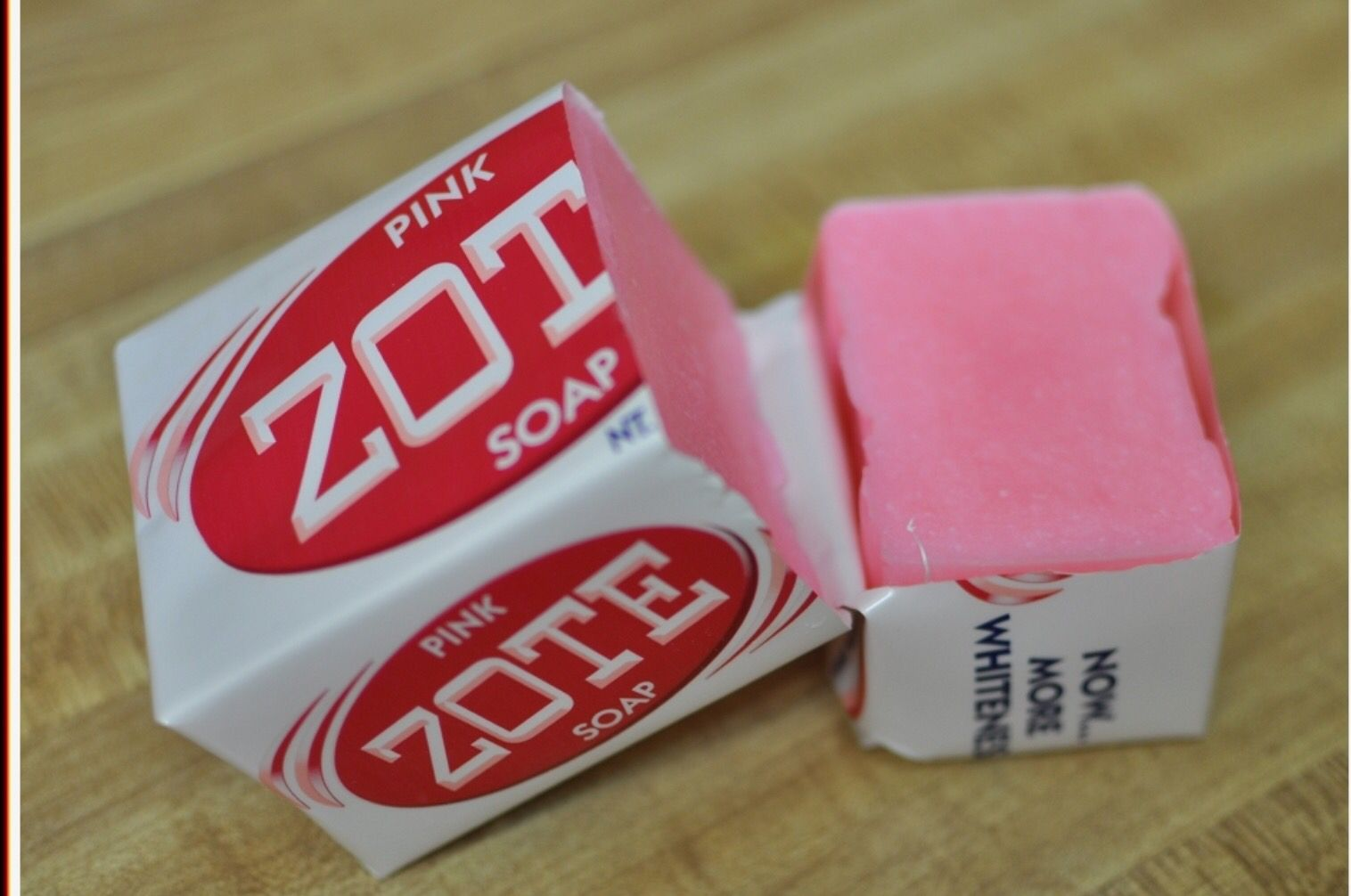 Use zote soap to clean your make up brushes, I love it! It
