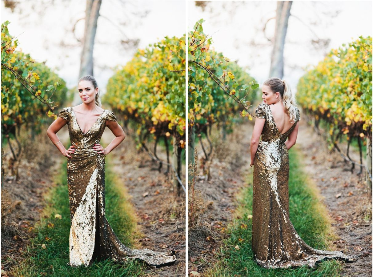 Gold Wedding Dresses Glam Bistro