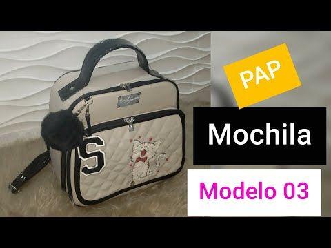 Mochila Modelo 03/ Uma fofura
