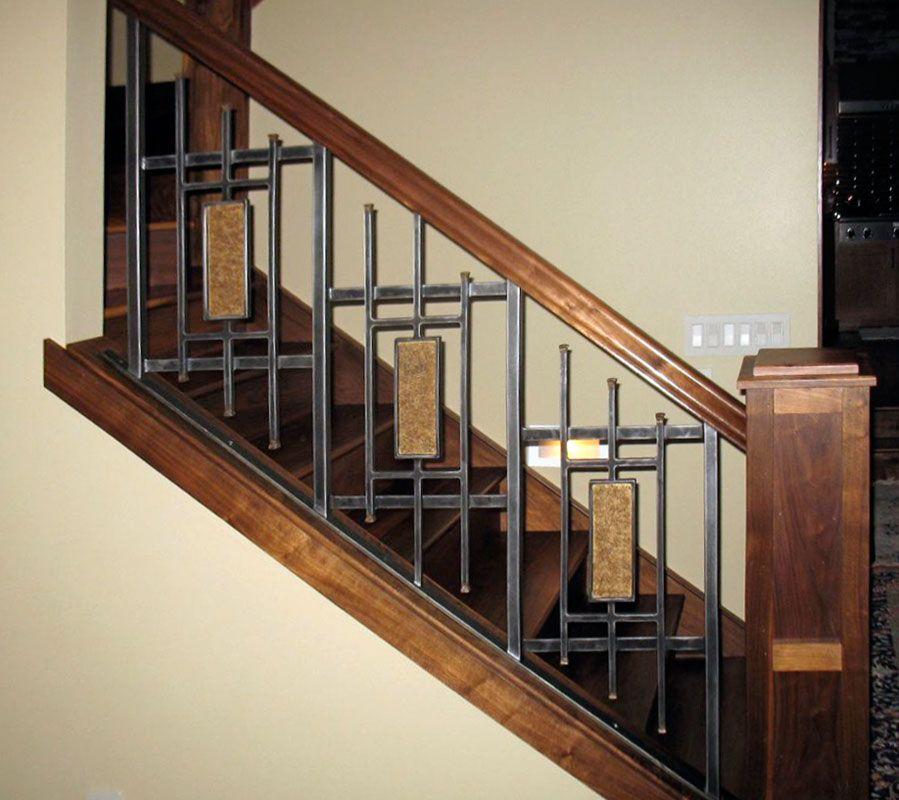house stair railing design Google Search Home Improvement Ideas