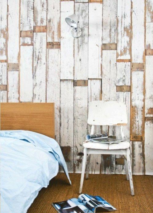coole Grunge Interior Designs schlafzimmer stuhl weiß abgenutzt ...