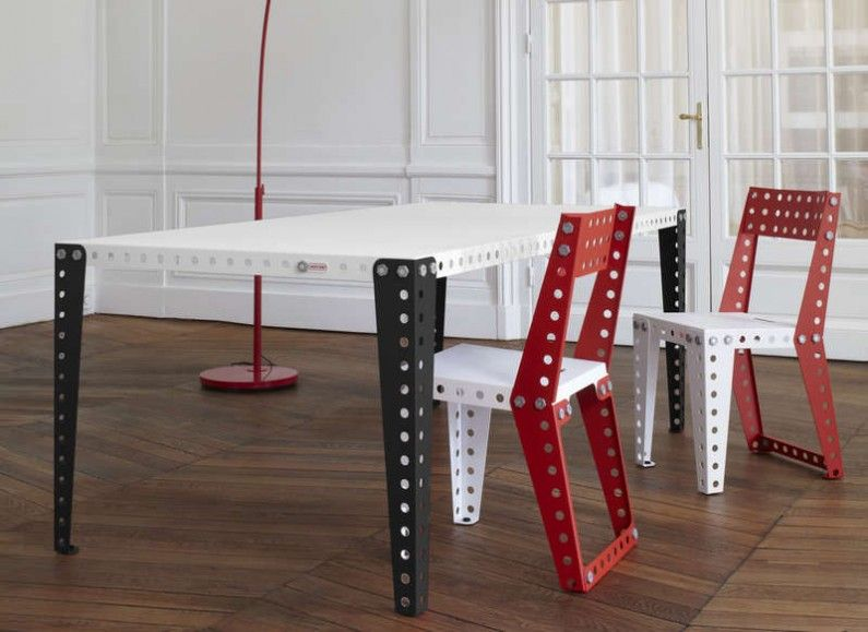 Mobilier Meccano à Monter Soi Même   Made In France