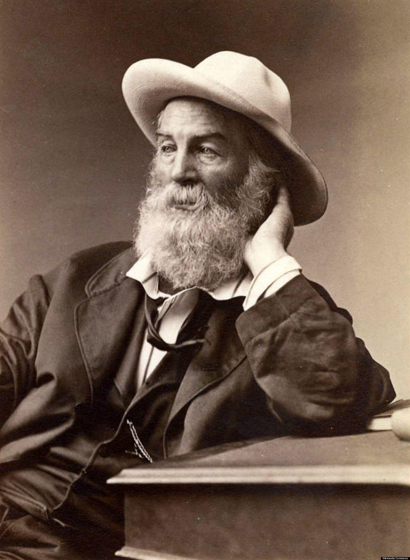 Louise Woods Walt whitman, American poets, Whitman