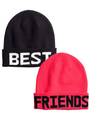 Best Friends Beanies!  | 10 Best Friend Gift Ideas
