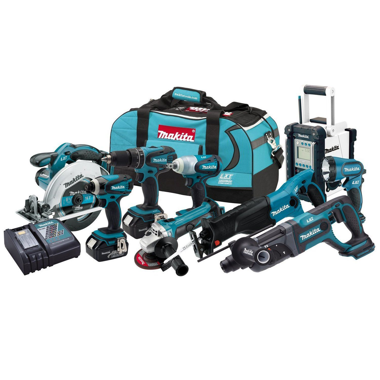 Robot Check Makita Tools Combo Kit Power Tools