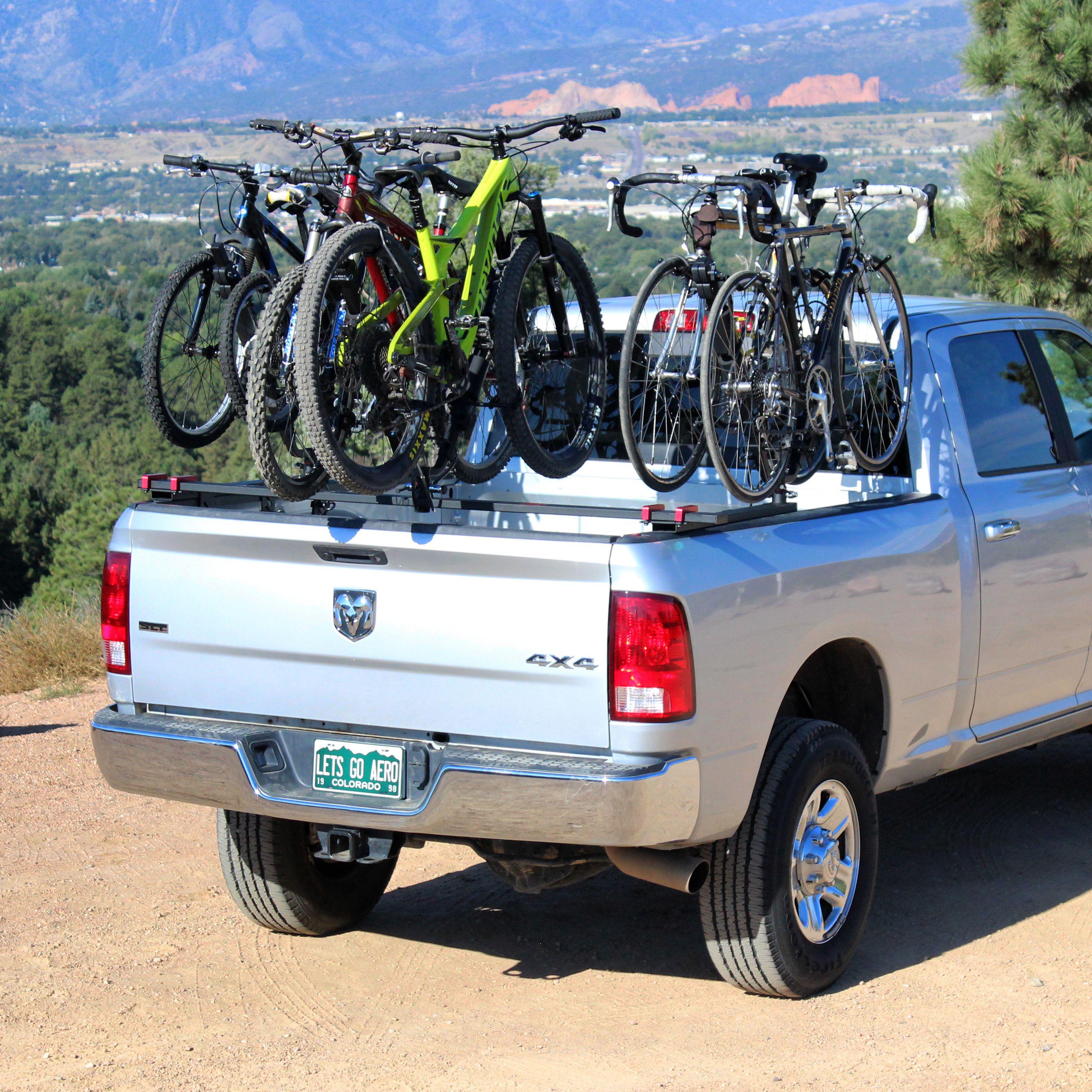 nelson truck mounts carry six bikes