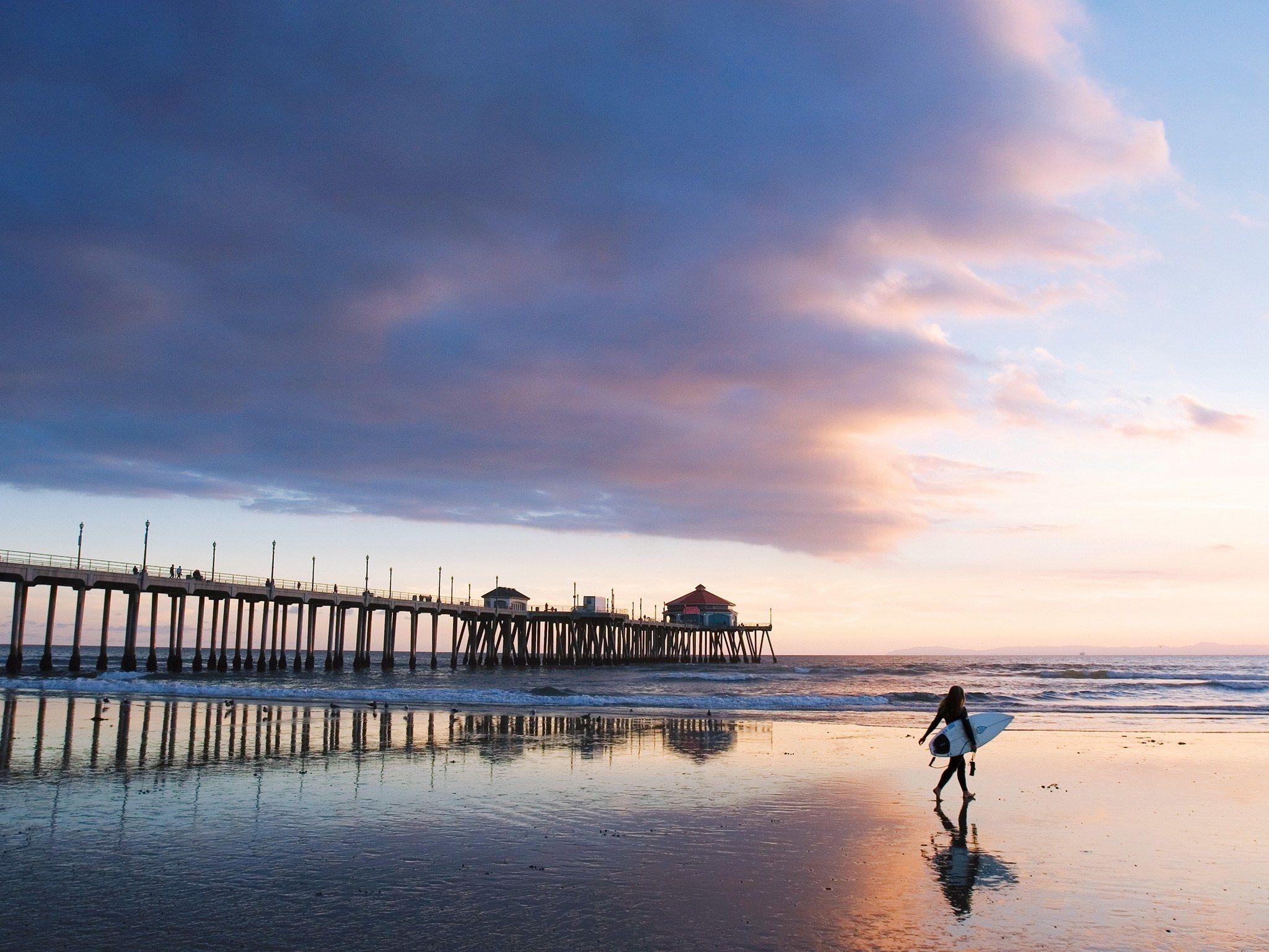 California Beach Wallpaper20481536