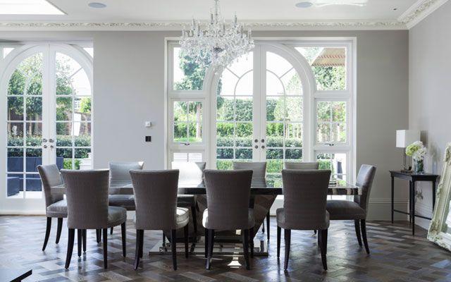 Decofilia blog rosetones y molduras de techo cl sicas for Casa clasica techo inclinado procrear