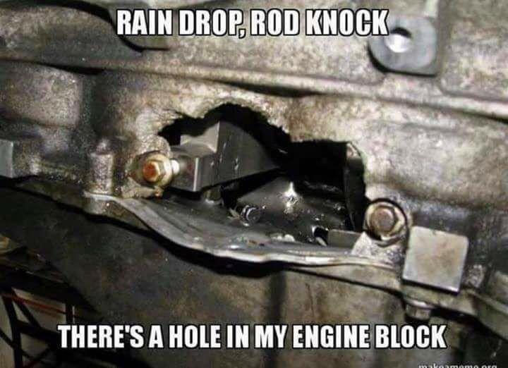 Car Memes Raindropdroptop Rodknock Engineblock Funny Car