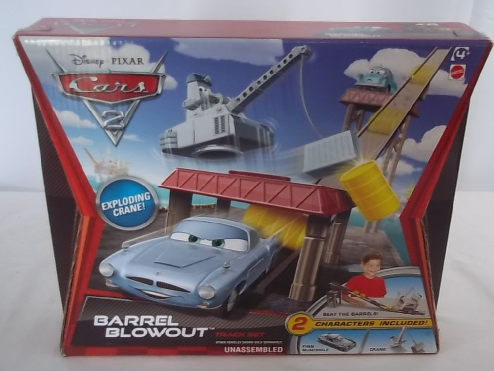 Disney Pixar Cars 2 Barrel Blowout Track Set NEW