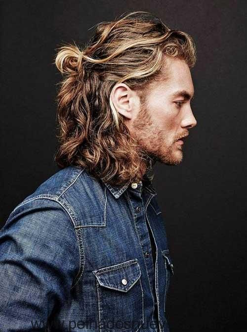 10 Fotos de hombres con pelo largo y barba