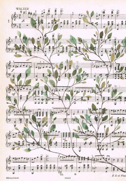 Singing leaves