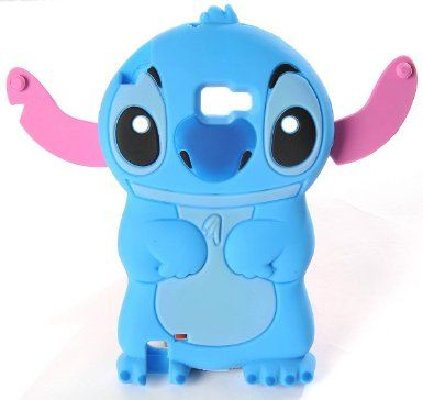 658fb7090f8f3 Lilo   Stitch Disney Samsung Galaxy Note i9220 N7000 3D Etui Housse en  Silicone TPU Coque de Protection Souple Bleu  Amazon.fr  High-tech