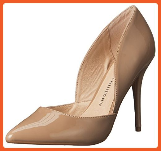 Chinese Laundry Women's Stilo D'Orsay Pump, Nude Patent, 8 M US -