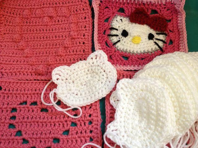 Hello Kitty Crochet Pinterest Häkeln And Applikationen