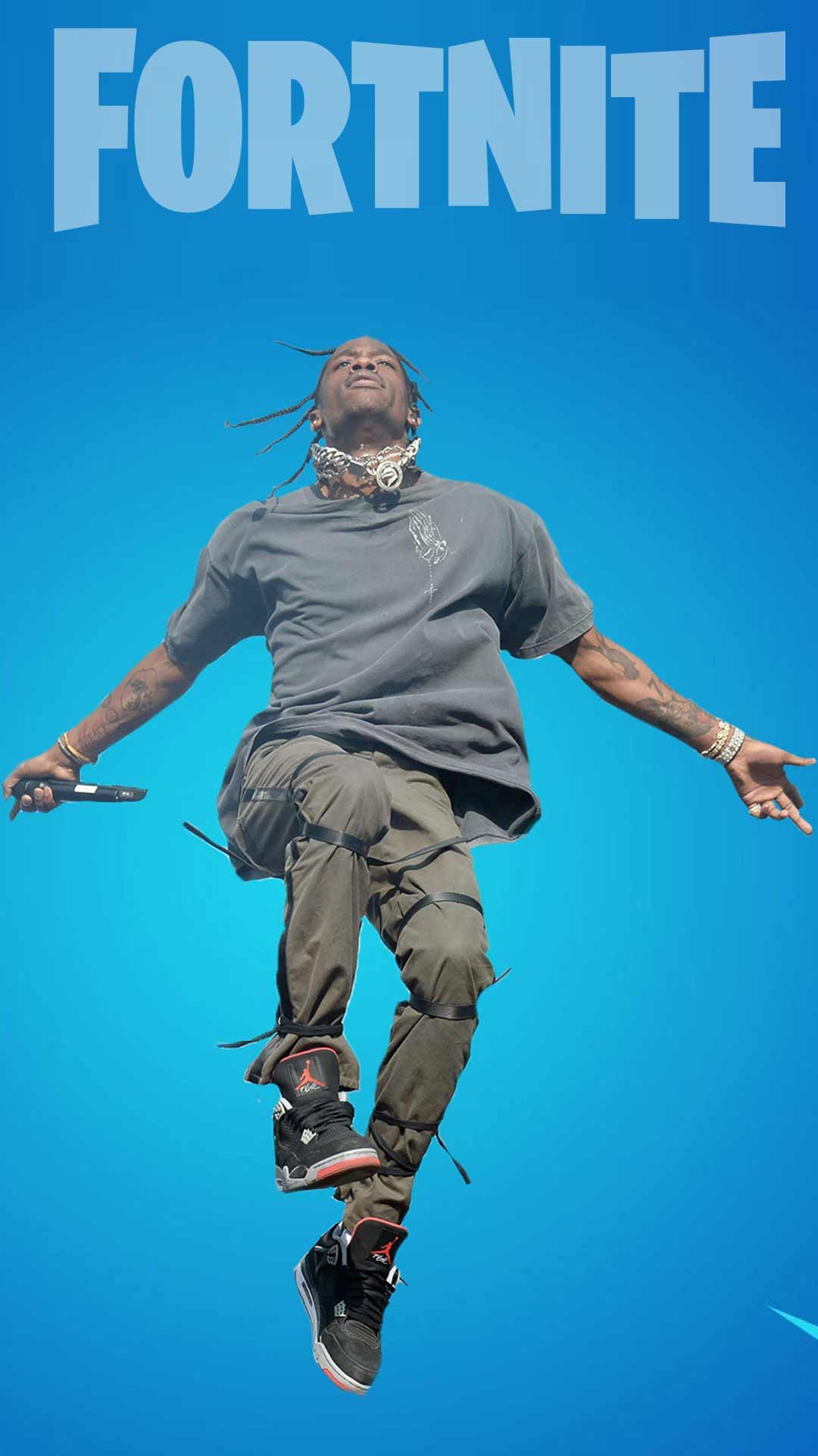 Travis Scott Fortnite Wallpaper Phone Backgrounds For Free Download On Android Mobile To Add As Cellphone Lock Screen Image Cool Looking Skin Pics En 2020