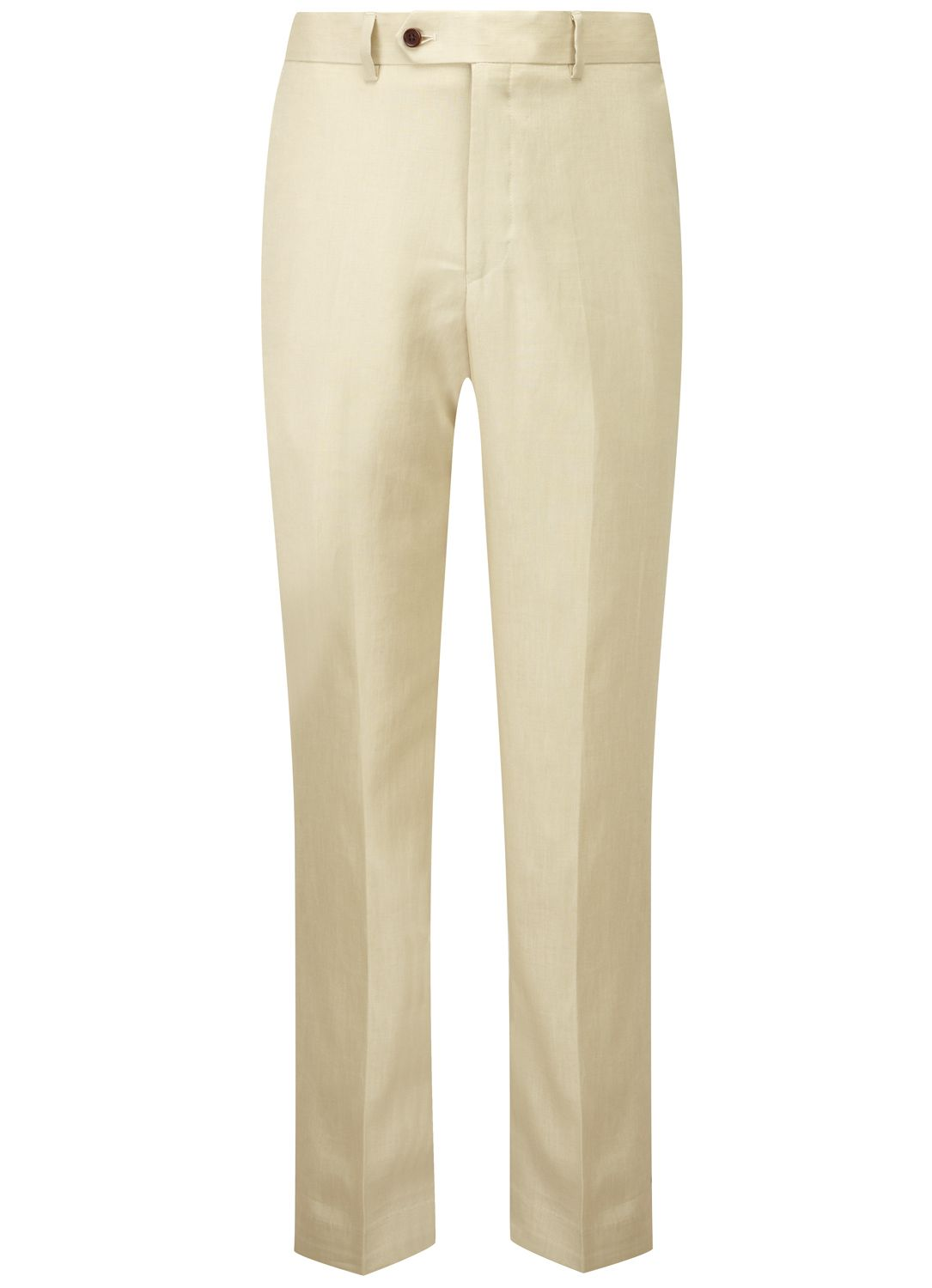 Contemporary Fit Sand Linen Trousers Formal Trousers Austin Reed Linen Trousers Trousers Mens Pants