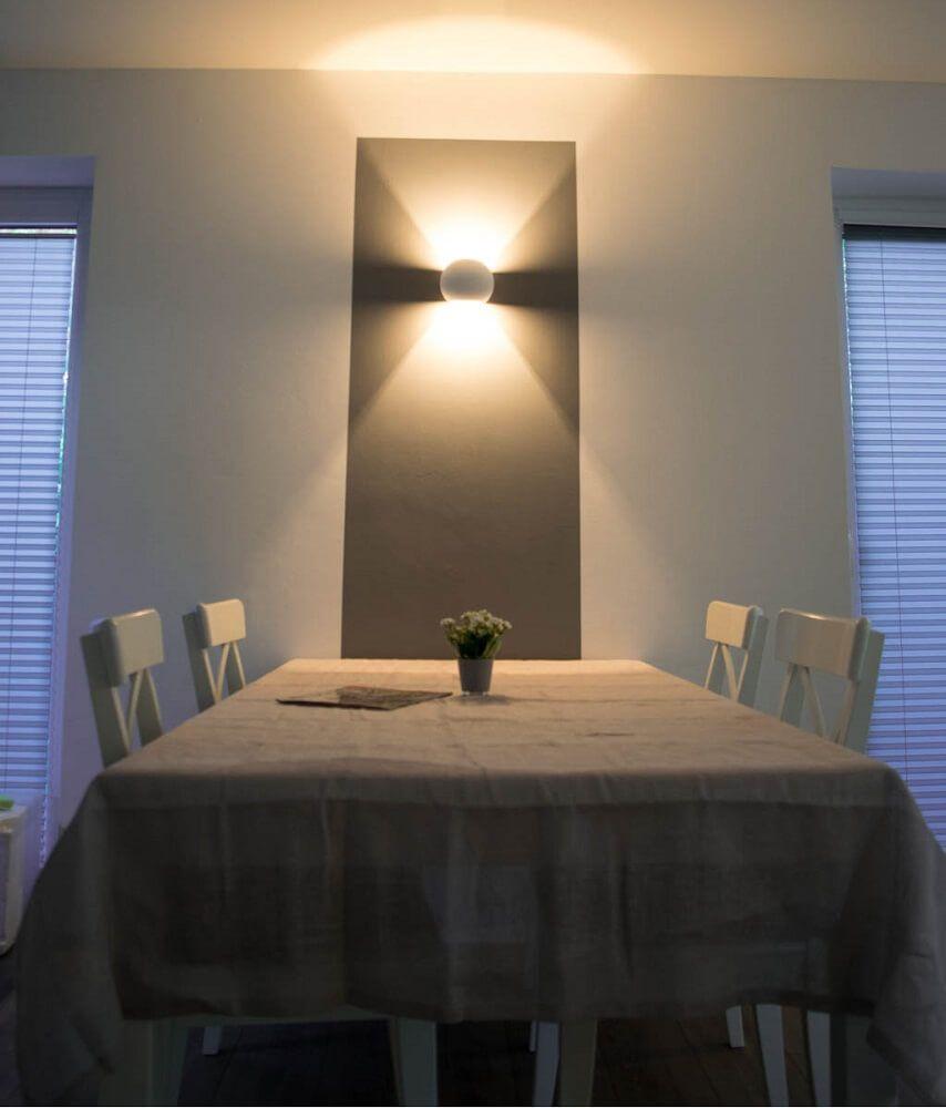 Dimmbare LED Wandlampen - Unsere Wandleuchten fürs Wohnzimmer (mit