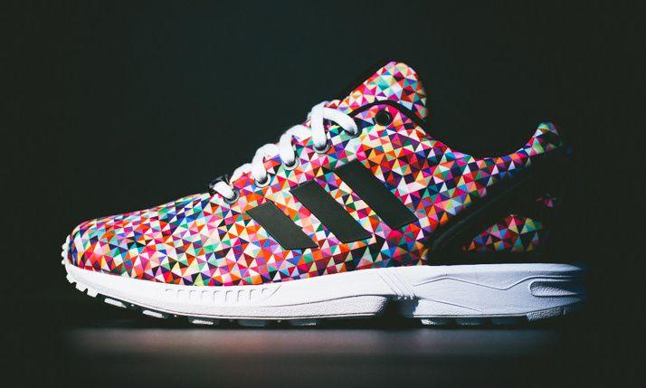 adidas zx flux rainbow
