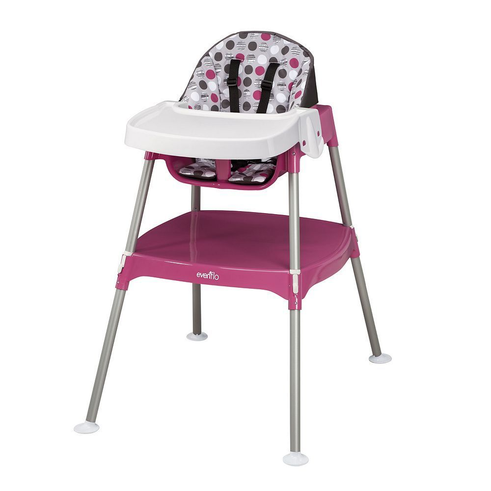 Evenflo expressions high chair zoo friends - Evenflo Convertible 3 In 1 High Chair Multicolor