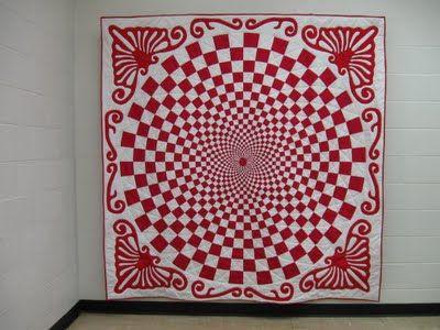 Vortex Quilt Tutorial | Quilt Projects | Red, white quilts, Quilt