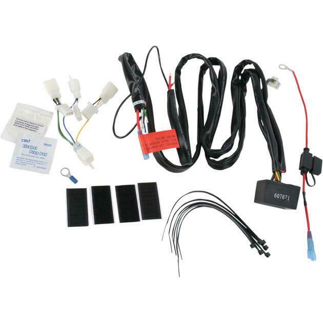 Advertisement Ebay Kuryakyn Plug And Play Trailer Wiring Relay Harness For Honda Gl1800 02 10 Plugs Relay Honda