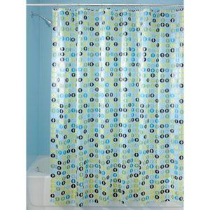 InterDesign EVA Shower Curtain Blue Green WalmartGreen