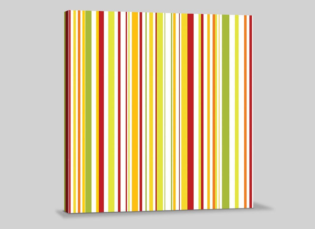 Canvas Prints Abstract Color Lines Giclee Wall Art Print | Canvases ...