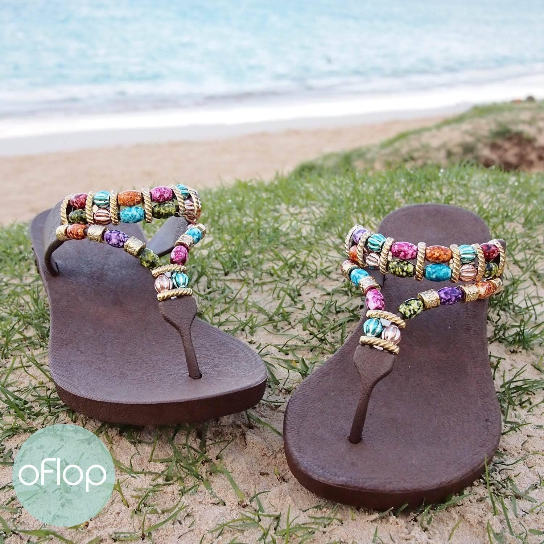 bf2aff008ad Brown Sparkle Karma -- Pali Hawaii Thong Sandals