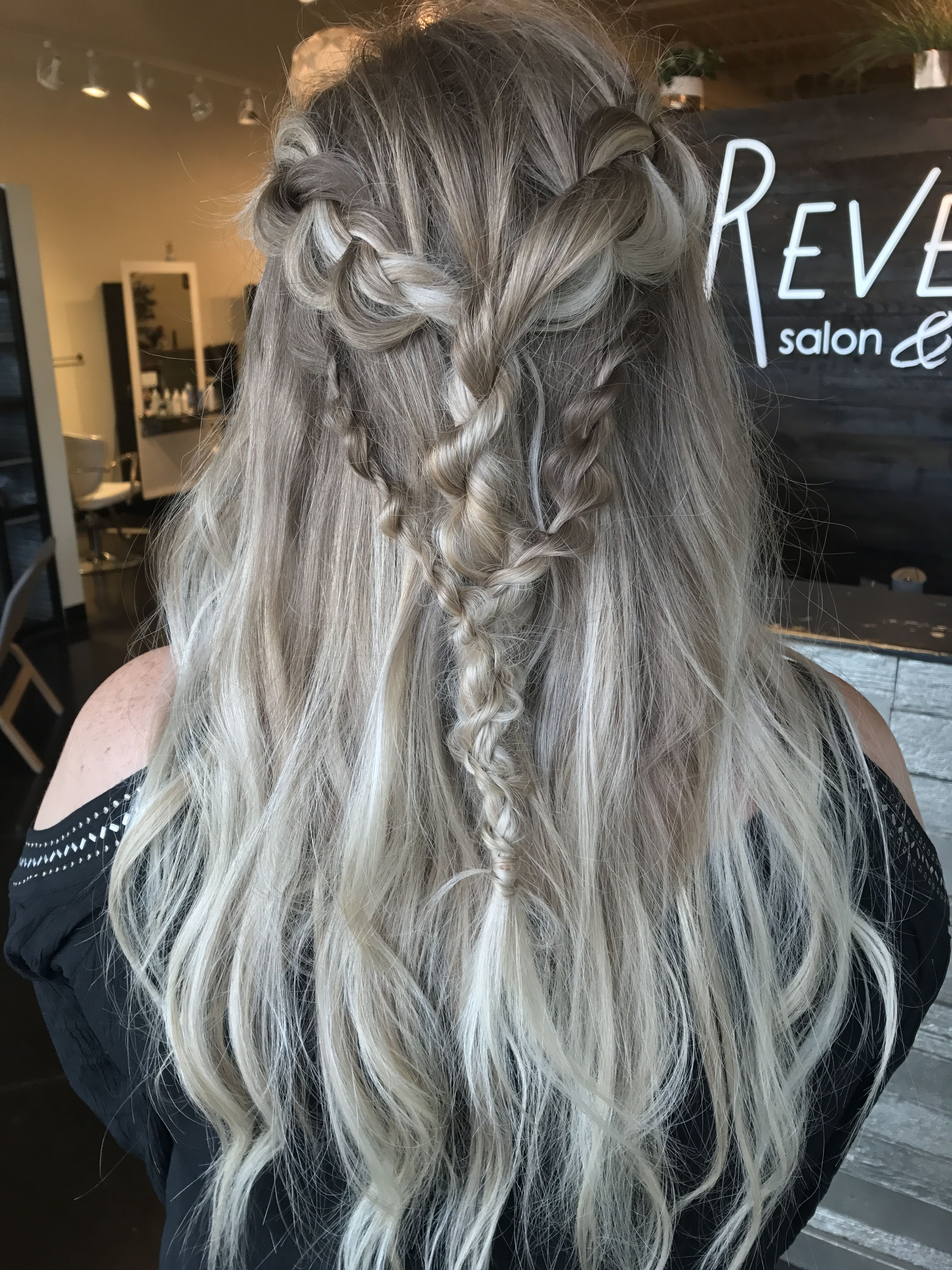 Braids and Waves hairbynatashafehlhaber Reveal Salon and