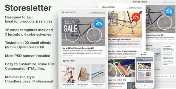 180 Absolute Best Responsive Email Templates | Responsive email ...