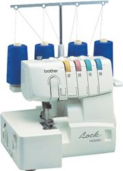 Overlock machine..... I totally need a new one!! Mine has been used way too much! Lol