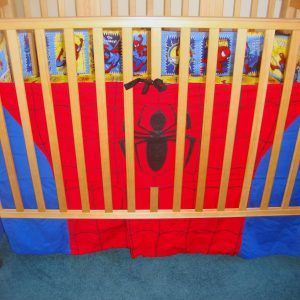 Spiderman Baby Crib Bedding