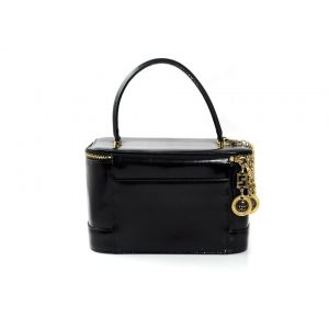Vintage Versace leather and vanity box bag - £350