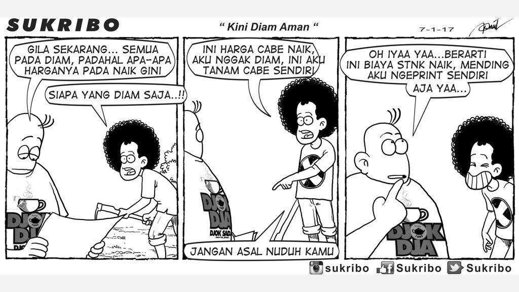 Mice Cartoon Kartun Kompas Minggu Edisi 8 Januari 2017 Kartun