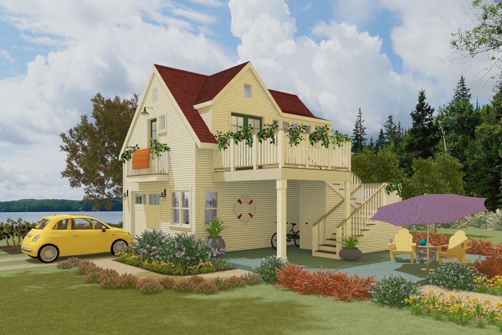 Plan 917 8 Houseplanscom Tiny housecottagesmall living