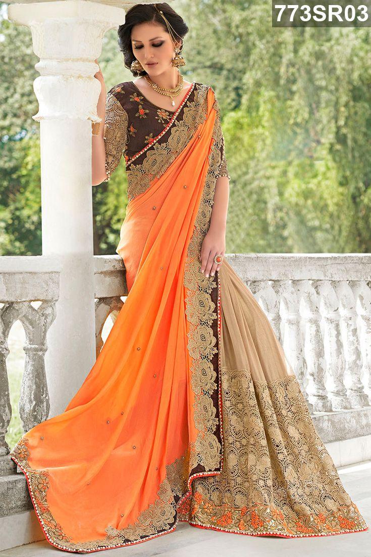 Pin by indian attires on My Style | Bridal lehenga choli, Saree, Saree designs