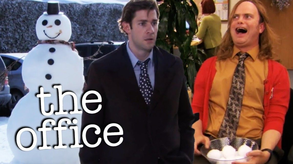 Jim and Dwight's Snowball War  (The time Dwight bested Jim