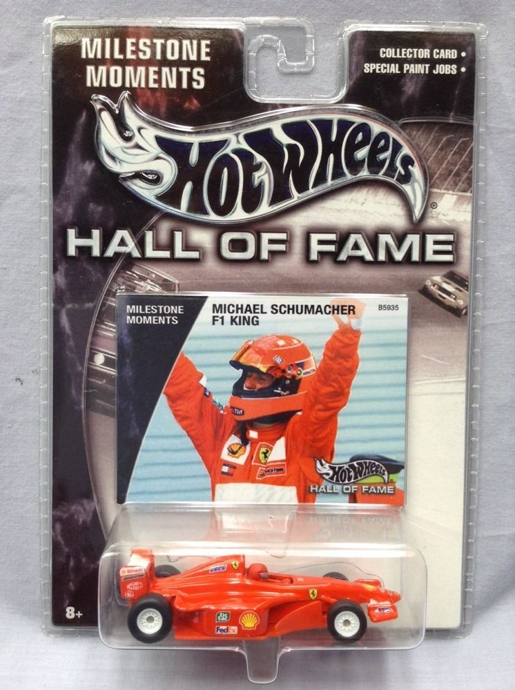 Hot Wheels Ferrari Michael Schumacher F1 King Hall Of Fame