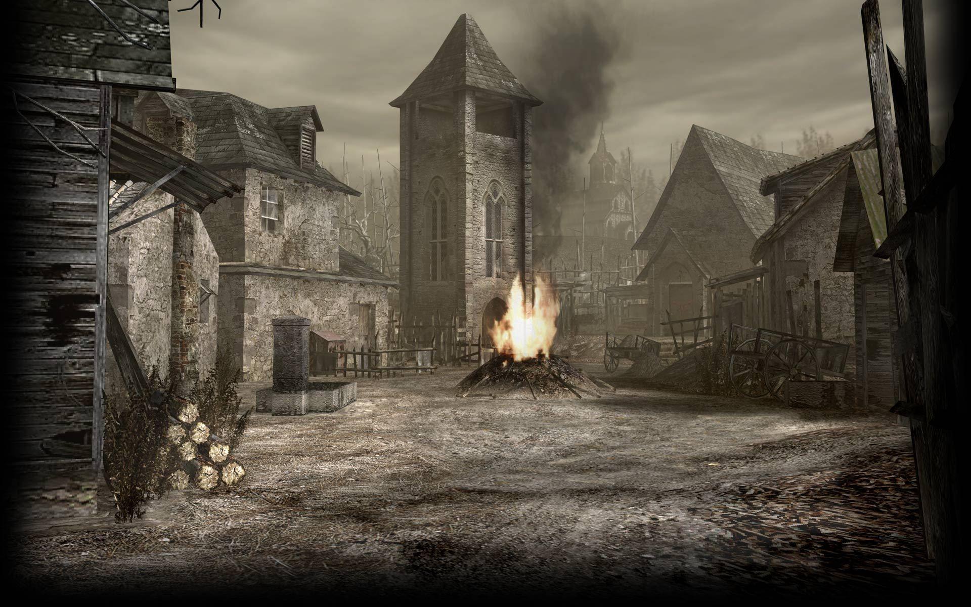 resident evil 4 remake arte conceptual