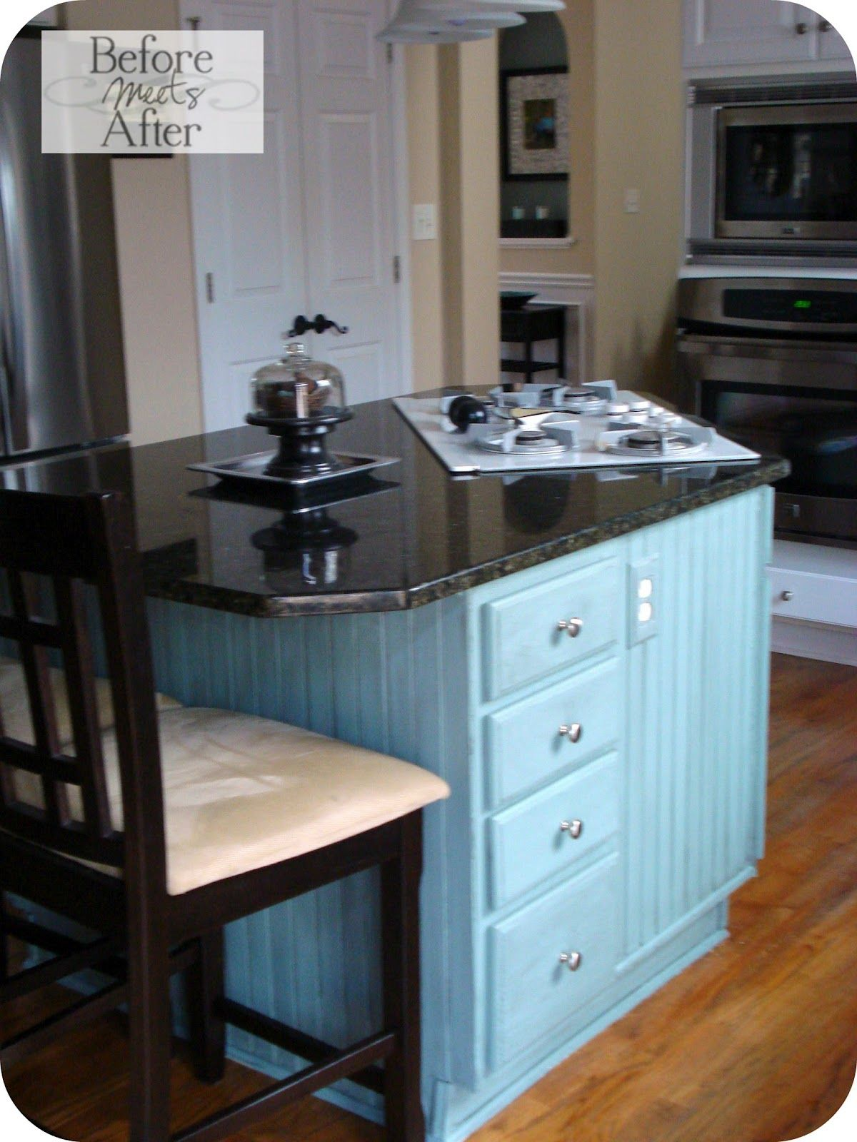 Before Meets After: Kitchen Update~~Love this island......love the ...