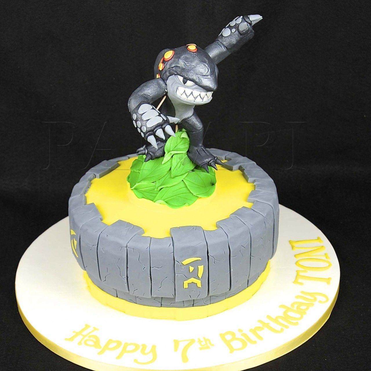 Skylander Cake Google Search Ryans Birthday Pinterest Cake
