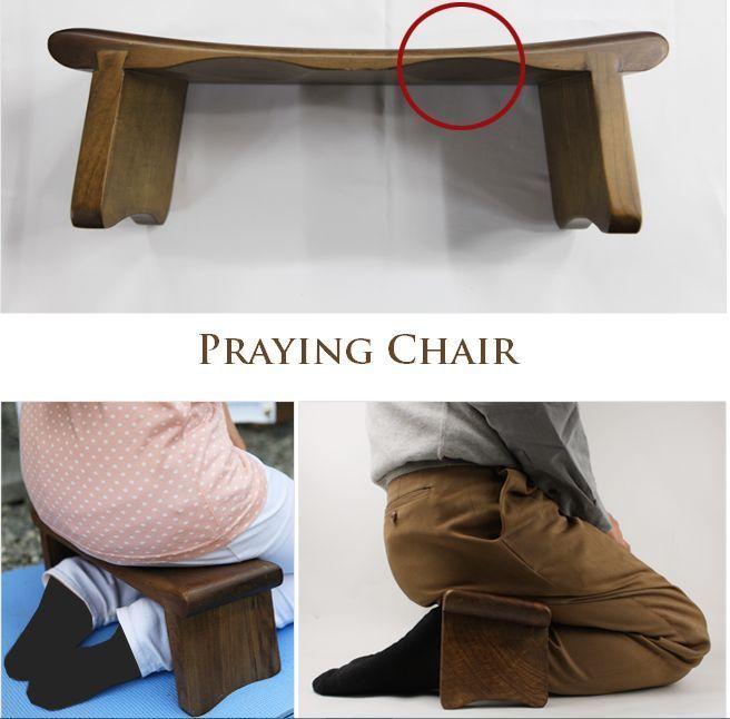 Prayer Kneeler Meditation Chair Praying Stool Kneeling