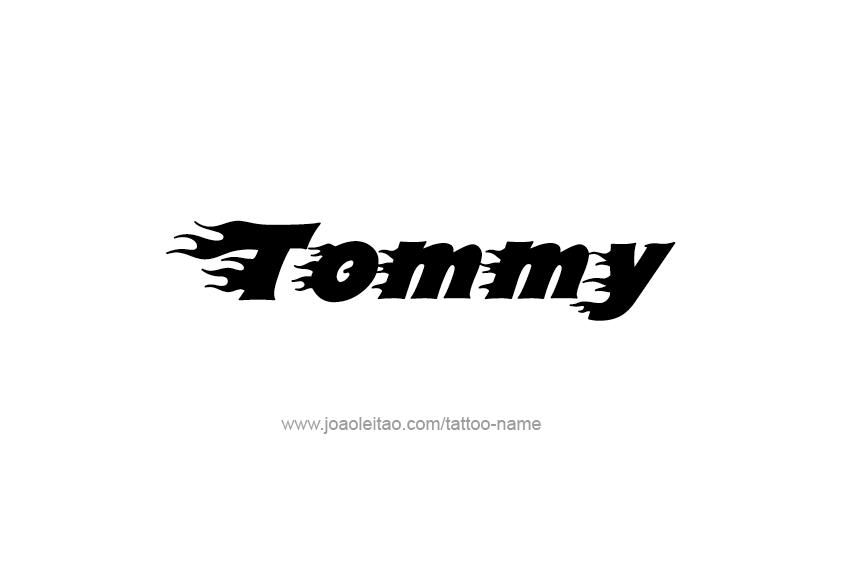 Tommy Name Tattoo Designs Name Tattoo Designs Name Tattoos Name Tattoo