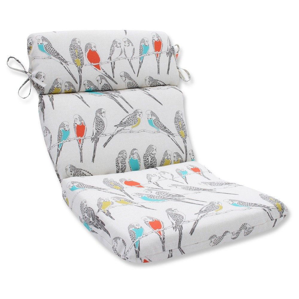Pillow Perfect Outdoor Seat Cushion Off White Outdoor