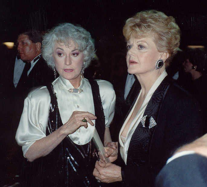 Bea Arthur & Angela Lansbury. I love both actresses, their work. Awersome.