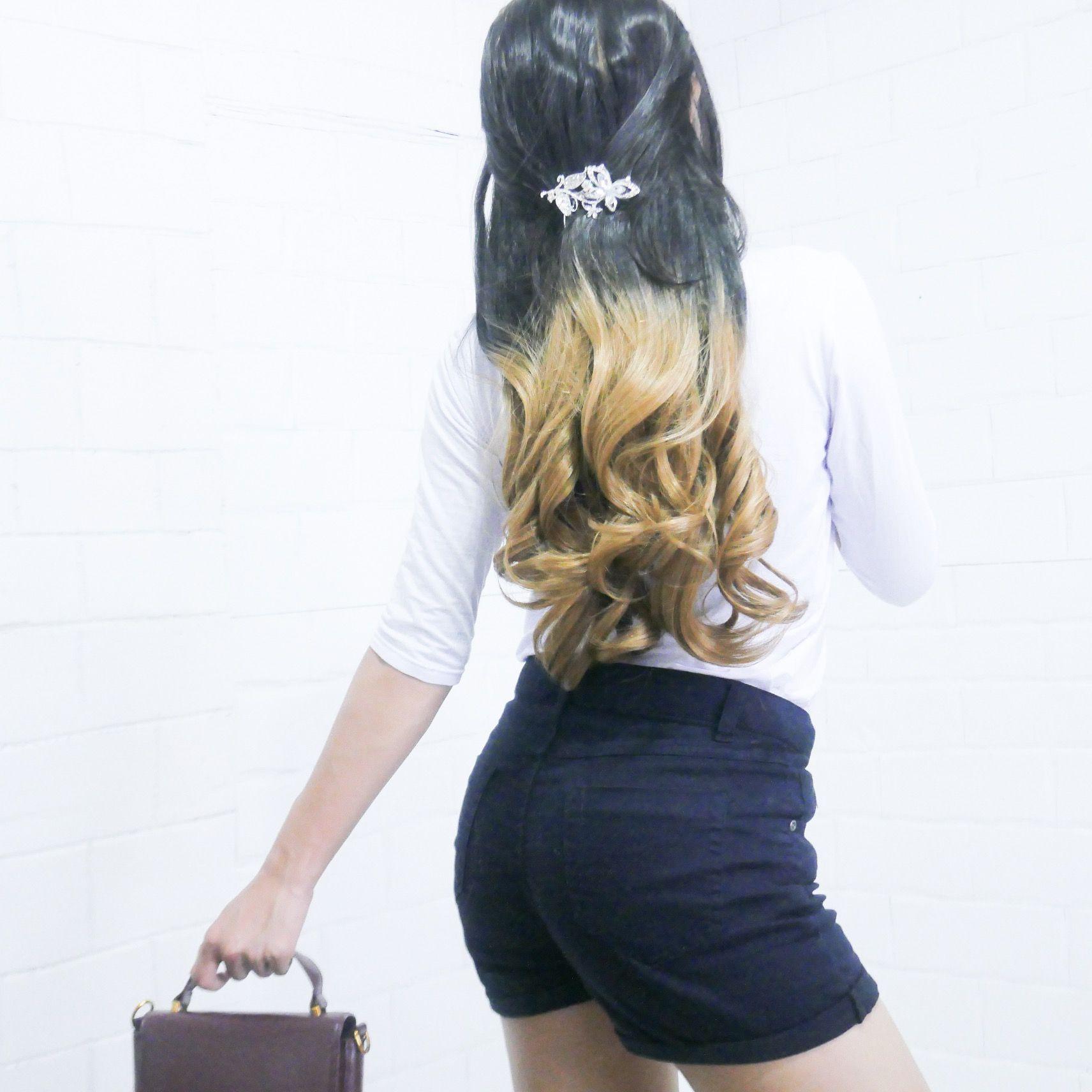 Bereksperimen dengan warna rambut Look Summer 😍 www