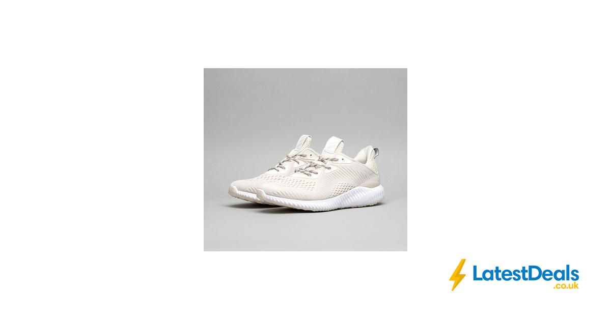 adidas originali alphabounce em trainer gesso / bianco,