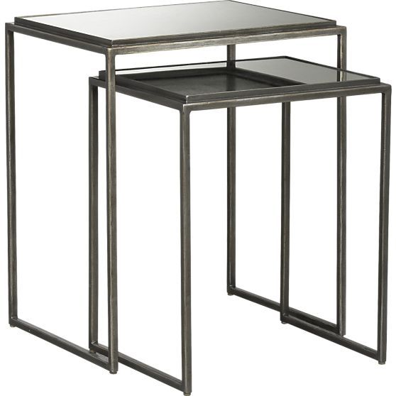 Best Eva Nesting Tables Set Of 2 In New Clearance Crate And 400 x 300