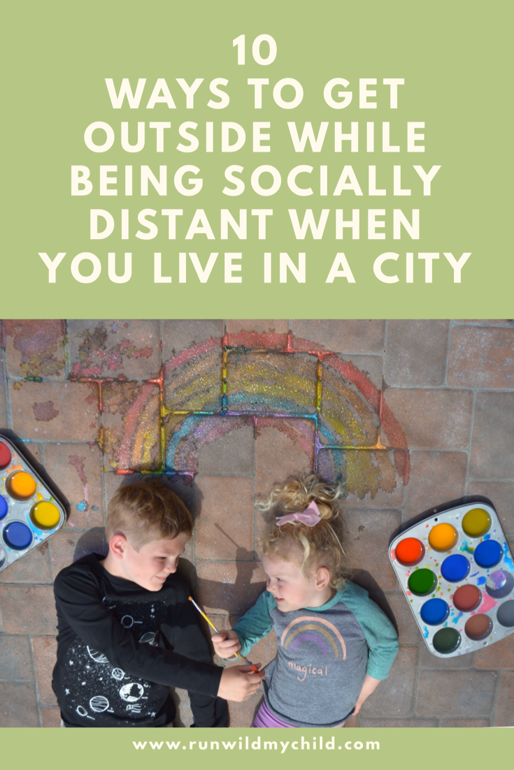 10 Outdoor Social Distancing Activities for Kids in a City